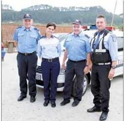 Ofițeri de poliție din Germania se află în